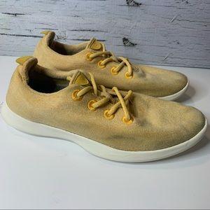 Allbirds Tuke Honey Yellow Classic Wool Runners